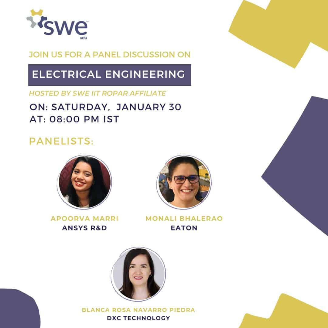 Swe Iit Ropar – Women In Engineering Conference – Day 3 (jan 30) Events