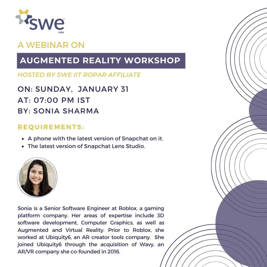Swe Iit Ropar – Women In Engineering Conference – Day 4 (jan 31) Events